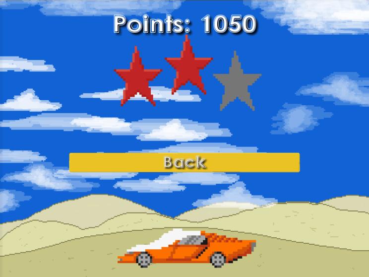 Gullys Vengeance - Ergebnis-Bildschirm
